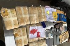 越南成功破获特大跨境毒品案 缴获大量毒品