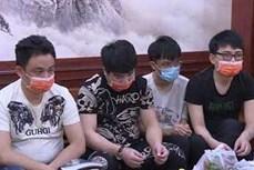 北宁省发现非法入境的20名外国人
