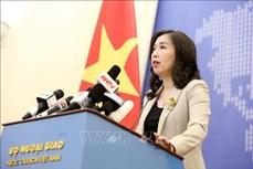 越南外交部发言人黎氏秋姮:一名越南公民在黎巴嫩贝鲁特港口爆炸事件中受轻伤