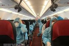 新冠肺炎疫情:在50个国家和地区的逾2.1万越南公民已安全回国