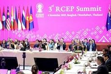 印度尼西亚:RCEP将于2020年11签署 印度不参加