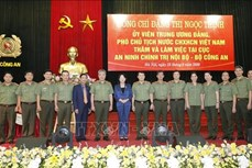 越南国家副主席:保护内部政治安全是特别重要任务