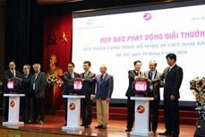 """2020年""""越南制造"""" 数字科技产品奖开启"""