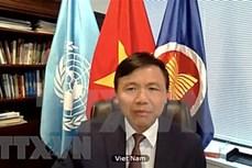 越南与联合国安理会:越南参加了关于反IS恐怖主义的会议