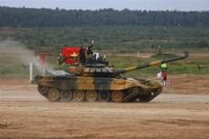 """国际军事比赛-2020:越南参赛队在""""坦克两项""""比赛第二组名列第二"""