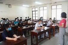 岘港市参加第二阶段高中毕业考试的所有考生新冠病毒检测结果均呈阴性