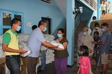 协助越裔柬埔寨人的第四批新冠肺炎疫情紧急援助计划正式启动