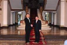 胡志明市与日本各地促进合作关系