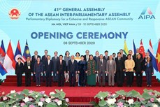 第41届东盟议会联盟大会隆重开幕 越共中央总书记、国家主席阮富仲发表视频讲话