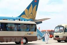河内市引导入境人员登记酒店自费隔离