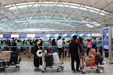 新冠肺炎疫情:在韩国的近380名越南公民安全回国