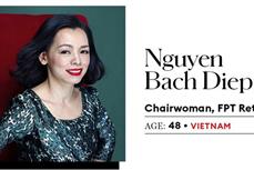 2020年亚洲商界最具影响力女性榜出炉 越南两位代表名列其中