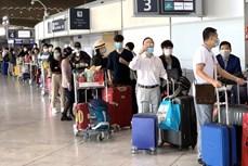 将在欧洲、非洲、南美和以色列等国家和地区滞留的越南公民接回国
