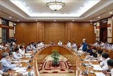 迎接党的十三大:党的十三大组织服务小组召开第三次会议