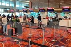 新冠肺炎疫情:将在新加坡的230多名越南公民接回国