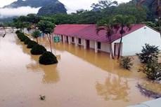 暴雨洪水袭击越南北部山区各省造成严重的损失