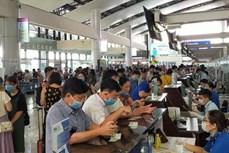 越南国家航空公司增加航班,为遭受第六号台风影响的乘客提供服务