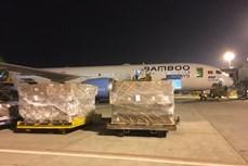 越竹航空免费将赈灾物品运往中部灾区