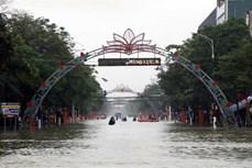 从清化到广南各省市主动应对暴雨和热带低气压
