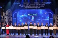 40项优秀工程荣获越南科技奖