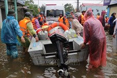 越南从国家物资储备库向5个灾情严重省份提供所需物资