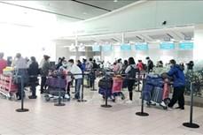 新冠肺炎疫情:滞留在阿联酋和科威特的近280名越南公民安全回国