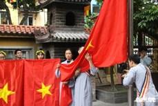 越南在各宗教场所发起悬挂国旗的运动