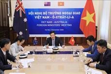 第二次越南与澳大利亚外交部长年度会议以视频形式举行