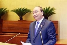 国会第十次会议:政府总理阮春福接受代表询问