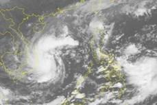 第十三号台风可能将增强 中部出现强降雨天气