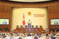 越南第十四届国会第十次会议:开展人事工作和通过2021年经济社会发展计划的决议