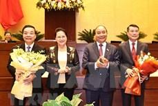 越南第十四届国会第十次会议:国会批准免去朱玉英和黎明兴的职务