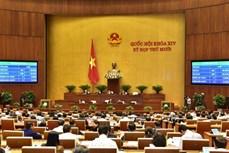 越南第十四届国会第十次会议:批准任命三名政府成员和最高人民法院法官