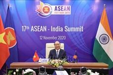 ASEAN 2020: 东盟与印度举行第17次领导人会议