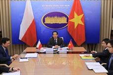 越南与波兰外交部副部长级政治磋商以视频形式举行