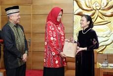 促进越南与印尼人民之间的友好合作关系