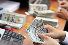 27日上午越盾对美元汇率中间价上调2越盾