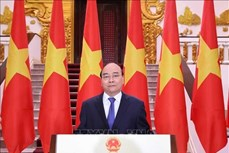 阮春福总理出席第17届中国-东盟博览会暨中国-东盟商务与投资峰会开幕大会