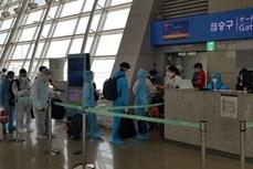 新冠肺炎疫情:将210多名越南公民从日本接回国