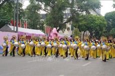 河内奥黛节:弘扬越南奥黛文化价值