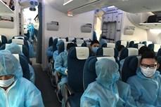 越南航空局建议安排包机航班接旅外越南公民回国
