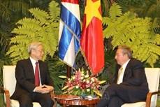 越南领导人就越古建交60周年向古巴领导人致贺电