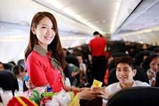 """泰国越捷荣获""""2020年增长最快航空公司""""奖"""