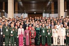越南国会主席阮氏金银会见第十次全国爱国竞赛大会参会代表