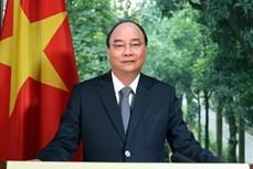 阮春福在《经济合作与发展组织公约》签署60周年纪念活动上发表视频致辞