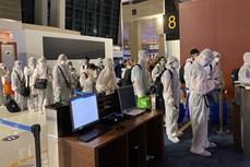 新冠肺炎疫情:将在海外滞留的近350名越南公民安全接回国