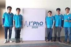 参加2020年国际物理奥林匹克竞赛的五名学生均获奖