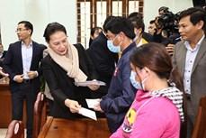 越南国会主席阮氏金银赴广南省考察调研