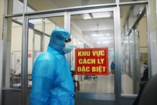 越南新增1例新冠肺炎确诊病例 入境后立即接受隔离