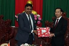 坚江省促进与印度各地的合作